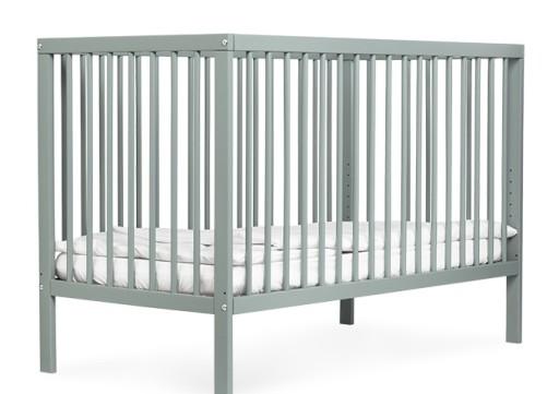 Łóżeczko dziecięce moKee | Jasny szary