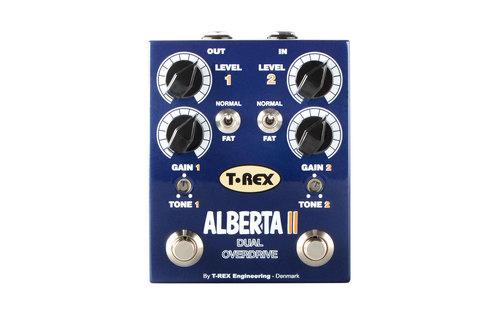 Efekt gitarowy dual overdrive T-Rex Alberta II
