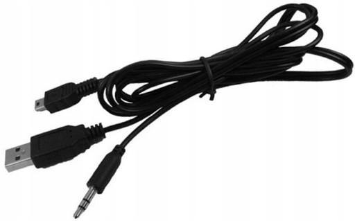 ADAPTER KABEL USB MINI USB MINI JACK 3.5mm AUX
