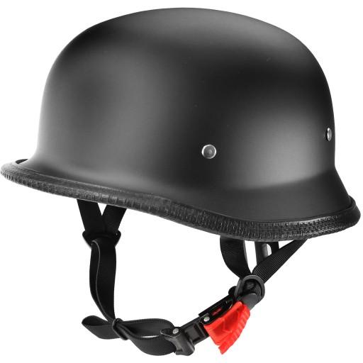 Kask Motocyklowy Helm Niemiecki Retro Orzeszek L Rzeszow Allegro Pl