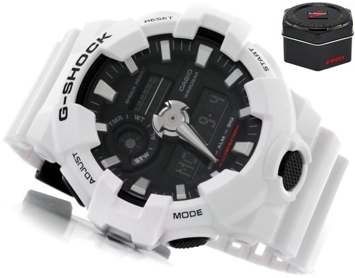 ZEGAREK MĘSKI CASIO G-SHOCK GA-700 SPORTOWY + BOX
