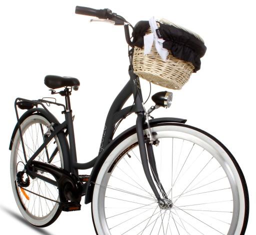 Damski Rower Miejski 28 Alu Lekki Shimano 7 Kosz 8257542762 Allegro Pl