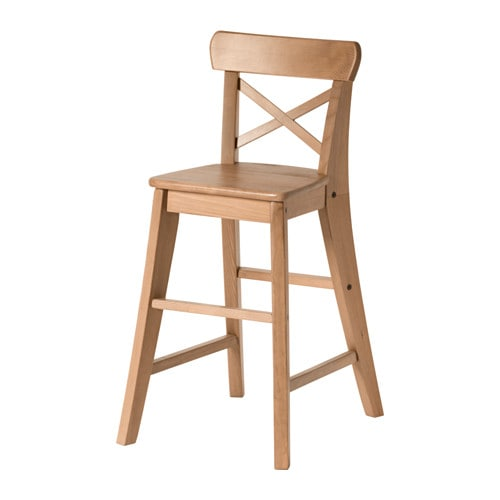 Ikea Krzesło Dziecięce Ingolf Bejca Patynwa Kurier 7361267050