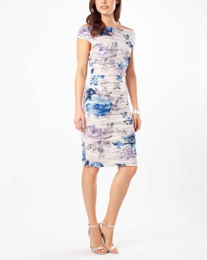 MARGOSTYL OUTLET sukienka w kwiaty Phase Eight 44