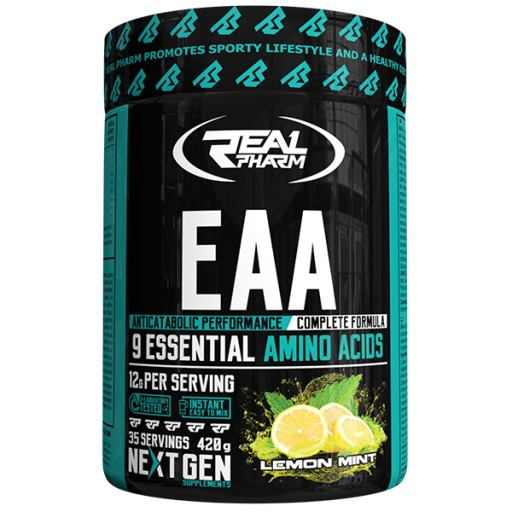 Real Pharm EAA Amino Aminokwasy 420g Ananasowy