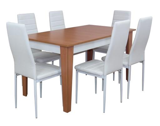 Stół Kuchenny Stolik Rozkładany Krzesła