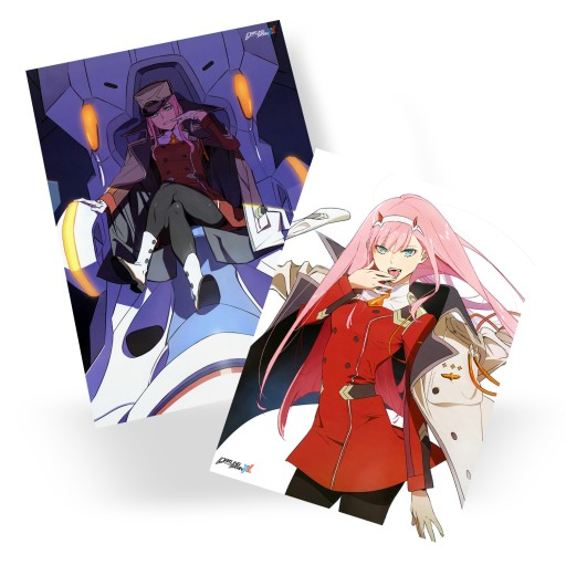 Plakat A3 Anime Darling in the FranXX DUŻY WYBÓR