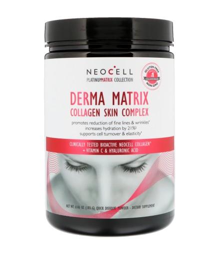 NeoCell Derma Matrix 183g KOLAGEN KWAS HIALURONOWY