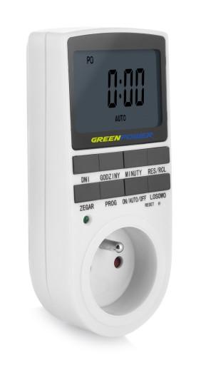 Elektroniczny programator czasowy - GP PC-02