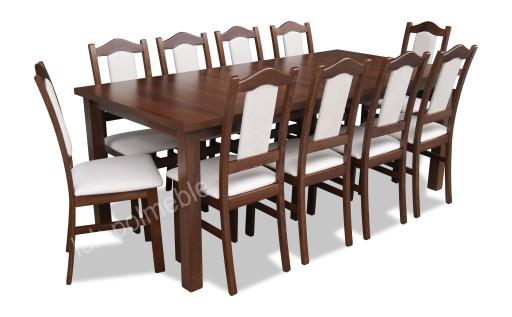 Duży Stół 10 Krzeseł Nowoczesne Krzesła Stoły 7280037782