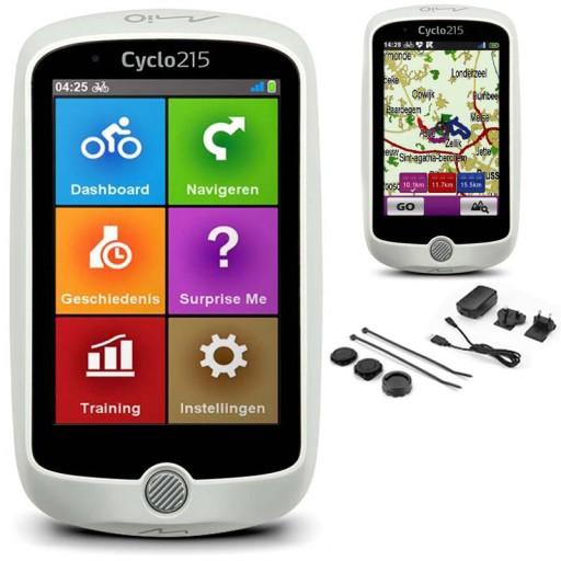 Nawigacja rowerowa mapa Europy GPS Mio Cyclo 215