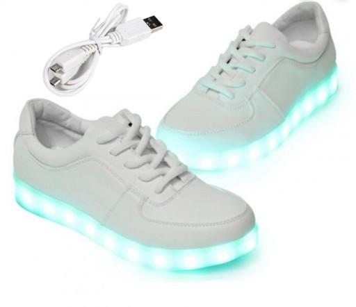 Swiecace Buty Led Sportowe Podswietlane Adidasy 33 8550988739 Allegro Pl
