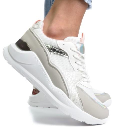 Buty Damskie Adidasy Sneakersy Diana białe r.39