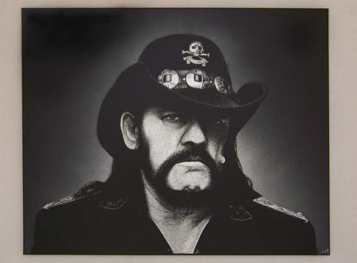 Lemmy Motorhead Obraz na blasze ... Grawerka