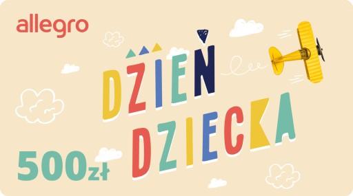 Karta Podarunkowa Dzień Dziecka - 500 zł