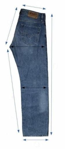 Denim&Co jeansy męskie pas. 90 cm, nog.: 114cm 10204850734 Odzież Męska Spodnie KT RVNGKT-7