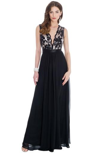 Sukienka wieczorowa na wesele studniówkę A205 36