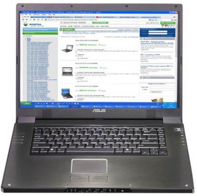 ASUS W2J 17,1 RADEON X1600 ssd128gb 2гб P41