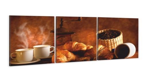 Obrazy Do Kuchni Tryptyk Kawa Ziarna Wybór Wzorów