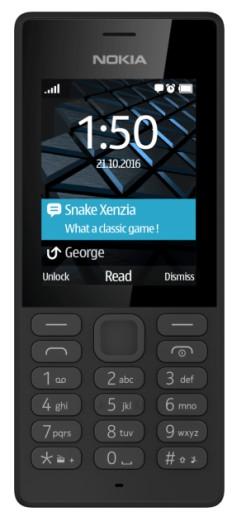 Telefon komórkowy Nokia 150 16MB Dual Sim czarny