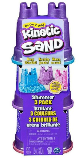 Kinetic Sand Piasek Kinetyczny Blyszczacy Zestaw 8982130209 Allegro Pl