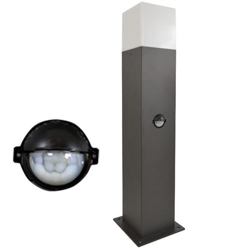 Lampa Ogrodowa do LED E27 Słupek 44cm CZUJNIK RUCH