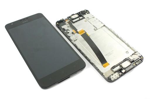ORYGINA WYŚWIETLACZ LCD EKRAN RAMKA HTC DESIRE 825