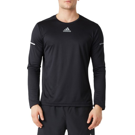Bluza męska sportowa Adidas Run Ls Tee M S03018