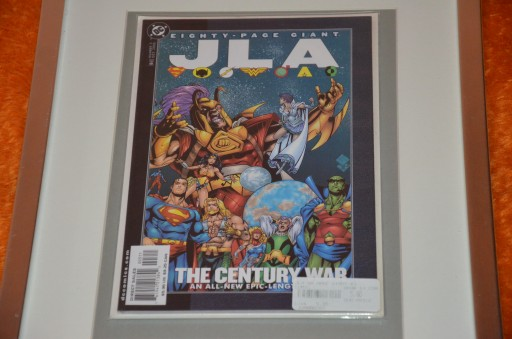 JLA 80 PAGE GIANT #3 2000 DC THE CENTURY-WAR