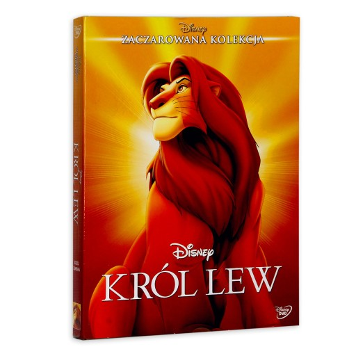KRÓL LEW część 1 DVD Bajka DISNEY Dubbing PL wy24h