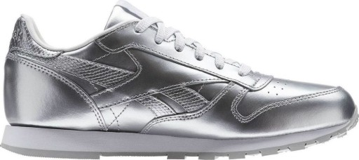 Reebok Classic Leather Metallic BS8945 | Srebrny