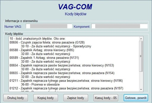 NAJLEPSZY interfejs USB VAG KKL we wtyku OBD2 PL
