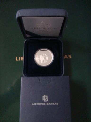 Litwa-10 litu Ag925 Kultura Litwy-KINO 2014r.
