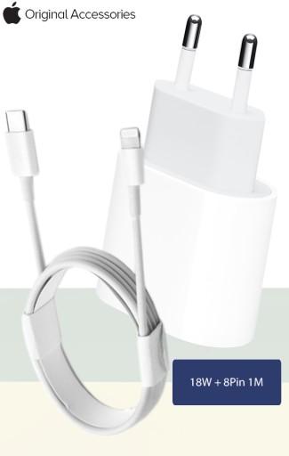 ŁADOWARKA APPLE USB C DO LIGHTNING 18W ORYGINAŁ 1M