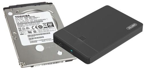 Przenosny Dysk Toshiba 500gb 2 5 Hdd Sata Kieszen Dyski I Pamieci Przenosne Allegro Pl