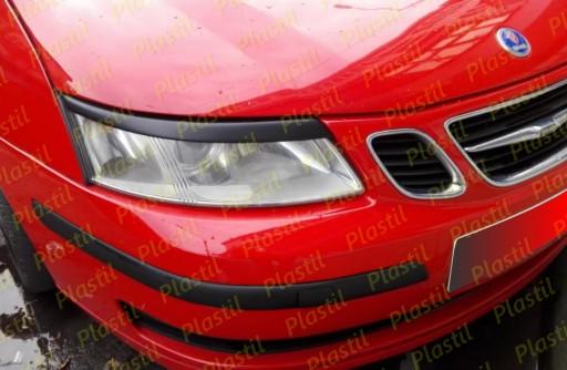 Brewki SAAB 9-3 II 93 ABS PLASTMASE PLASTIL DANGTELIS