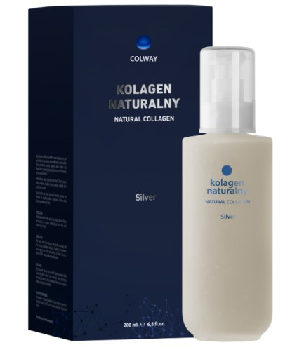 COLWAY Kolagen Naturalny SILVER 200ml + PREZENT
