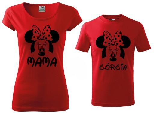 Zestaw Koszulek Koszulki Dla Mamy I Corki Prezent 8966725993 Allegro Pl