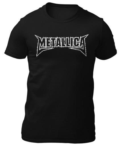 Koszulka METALLICA 16 dla fana 6 kolorÓw L 8957434210 Odzież Męska T-shirty DP DXPHDP-3