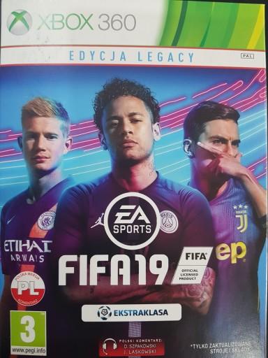 Fifa 19 Pl Xbox360 X360 Folia Nowa Stan Nowy 7896716521 Allegro Pl