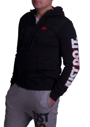 Nike Bluza z Kapturem Just do it CJ4552 011 Roz L