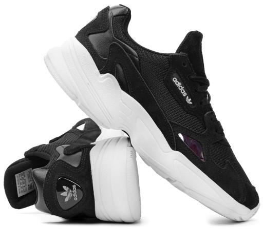 Czarne Skórzane Buty Damskie Sportowe Nike rozmiar 40