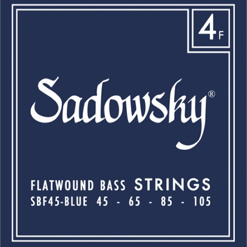 Struny Sadowsky SBF45 Flatwound 45-105 BASSWORLD