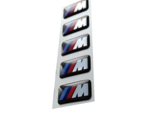 ZENKLIUKAS LIPDUKAS EMBLEMA LOGO RATLANKIAI BMW M-POWER