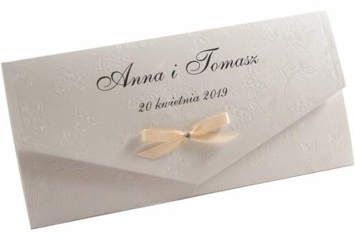 Zaproszenia ślubne Prłowe Próbka Wysyłka Gratis 7124068842
