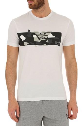 EMPORIO ARMANI EA7 t-shirt koszulka ORYGINAŁ XXXL 9734716821 Odzież Męska T-shirty OG GRLAOG-5