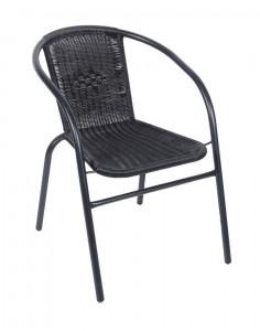 Krzesło Rattanowe Ogrodowe Tarasowe Balkonowe