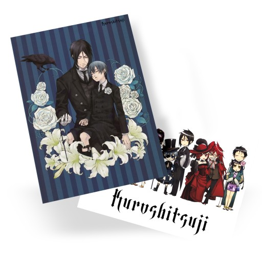 Plakat A3 Manga Anime Kuroshitsuji DUŻY WYBÓR