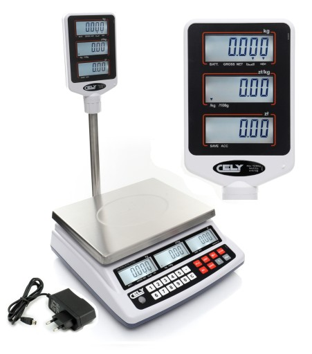 Waga Sklepowa Z Legalizacja 30kg 5g Elektroniczna 8313073053 Allegro Pl