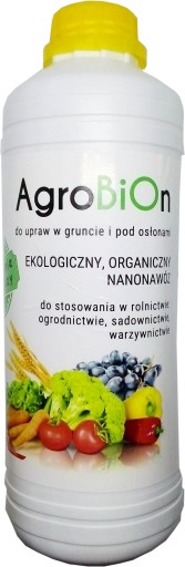 AgroBiOn koncentrat 1 L na 1 ha - eco nawóz